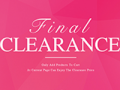 TBdress: 80% Off Final Clearance