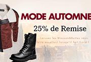 Milanoo: 25% De Réduction MODE AUTOMNE