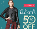 Rose Gal: 50% Off Jackets + Free Shipping