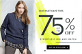 TwinkleDeals: 75% Off Tops + Free Shipping