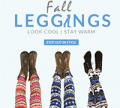 Rose Gal: 69% Off Fall Leggings + Free Shipping