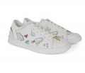 Eleven Paris: 11PRS Cartoon Tennis Shoes $ 79.00