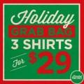 Kill Cliff: Holiday Grab Bag - 3 Shirts For $29