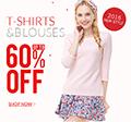 Rose Gal: 60% De Descuento En Las Camisetas & Blusas