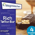 Weight Watchers: Rich Toffee Bar Only AU$7.40