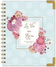 La Vie en Rose Wire-bound Daily Planner for $59.95