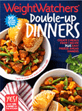 Weight Watchers: Double Up Dinners Cookbook For AU$15.95