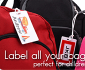Label Your Stuff: Buy 5 Get 1 Free For Bag Tags