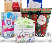 Label Your Stuff: Gift & Holiday Labels For $9.95