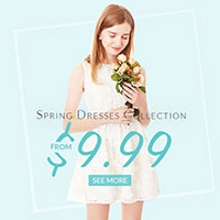 Rose Gal: Spring Dresses From $9.99 + Free Shipping