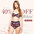 Rose Gal: 40% Off Bikinis + Free Shipping