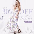 Rose Gal: 30% De Descuento En Los Vestidos Maxis