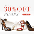 Rose Gal: 30% Off Pumps + Free Shipping