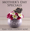Pickup Flowers: Mother's Day Special