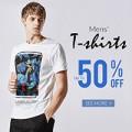 Rose Gal: 50% De Descuento De Los Hombres Camisetas