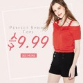 Rose Gal: Tops Primavera Perfecta De $9.99