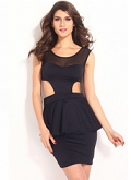 Pinkqueen: 62% Off On Peplum Dresses