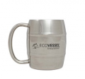 Eco Vessel: Double Barrel Insulated Mug - 8 Oz - Stainless Steel At Just $14.95