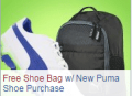 Global Golf: Free Shoe Bag W/ New Puma Shoe Purchase