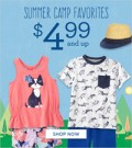 Gymboree: Shop Summer Camp Favorites For Under $4.99
