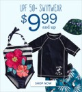 Gymboree: Shop UPF 50+ Swimwear Just Under $17.97