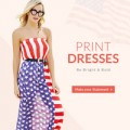 Rose Gal: Print Kleider Von $ 9.99 + Kostenloser Versand
