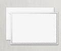 Crane & Co.: 50% Off Silver Spiral Frame Correspondence Card