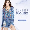 Rose Gal: 50% Off Summer Blouses + Free Shipping