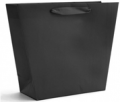 S Walter Packaging: Color Trapezoid Black Bag