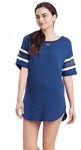 Carole Hochman: Varsity Stripe Lounger For $40