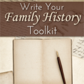 Shop Family Tree: 77% Off Write Your Family History Toolkit