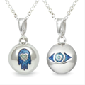 MySphereofLife: 2 For 1-Hamsa (Blue) & Evil Eye Pendants For £5.00