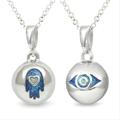 MySphereofLife: 2 For 1-Hamsa (Blue) & Evil Eye Pendants For £5.00