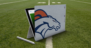 Surface Pro 4 Type Cover for all 32 NFL teams