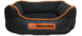 Hot Dog Collars: 30% Off Chicago Bears NFL Football Nesting Pet Bed