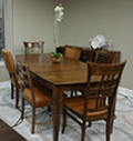 Abt: Save Over $1200 Off Canadel Custom Dining Collections Dining Room Set Cognac Washed - CUSTOMDINEPKG2