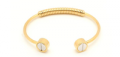 Anarchy Street: $32 For Screw Bangle - Gold