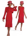 Women Suits: Ladies Church Dress & Jacket By Donna Vinci Just $179