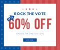 Rose Gal: 60% De Descuento Rock The Vote