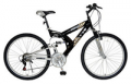 "Fingerhut: $78 Off Titan Punisher Unisex 26"" 21-Speed Full Suspension Mountain Bike"