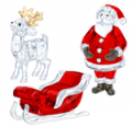 Swarovski: 25% Off Savings On Santa Scene Set