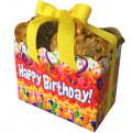 Cookies From Home: Confetti Birthday Party Large Gourmet Gift Box - 48 Cookies Just $55