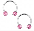 Bodyjewelry: Surgical Steel Horseshoe Curved Barbells Just For $6.99