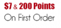 Wholesale7: $7 & 200 Points On First Order
