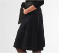 EShakti: $10 Off Deep Indigo Denim BoX-Pleat Skirt
