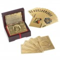 Timepieces USA: 24K Gold & Diamond Playing Cards Just For $129
