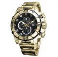 Timepieces USA: $130 Off Enigma Gold Watch