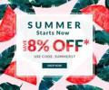 Rose Gal: Extra 8% Rabatt + Bis Zu 85% Rabatt Sommer Sale