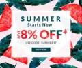 Rose Gal: Extra 8% Off + Up To 85% Off Summer Sale