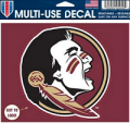 "Champions On Display: 60% Off Florida State Seminoles NCAA 4.5""X5.75"" Multiuse Car Decal WinCraft 528902"